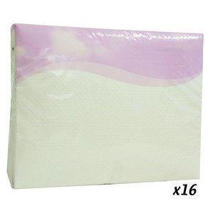 Asciugamano monouso airlaid Polietinato 48x80 cm 25 pz 16 confezioni