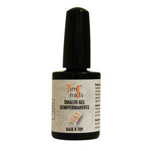 TN Smalto Gel Semipermanente Base & Top 14 ml.