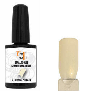 TN Smalto Gel Semipermanente nr 2 Bianco Perlato 14 ml