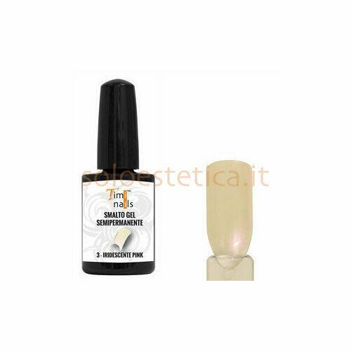 TN Smalto Gel Semipermanente nr. 03 Iridescente Pink 14 ml.