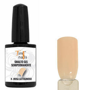 TN Smalto Gel Semipermanente nr 4 Rosa Lattiginoso 14 ml