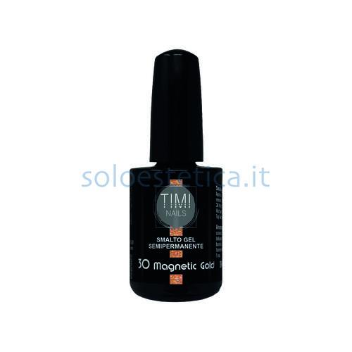 TN Smalto Gel Semipermanente nr. 30 Magnetic Gold 14 ml.