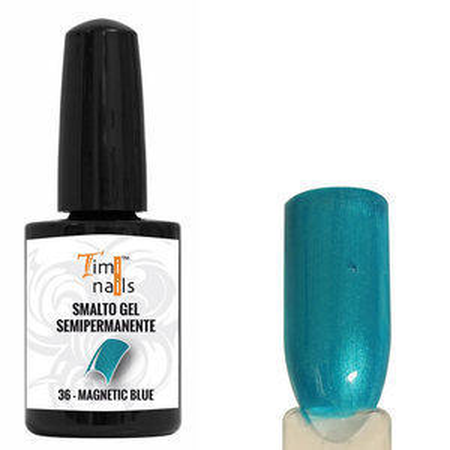 TN Smalto Gel Semipermanente nr. 36 Magnetic Blue 14 ml.