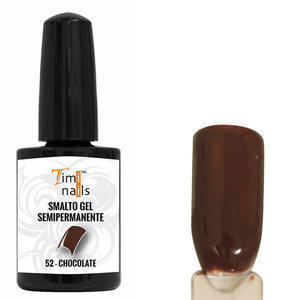 TN Smalto Gel Semipermanente nr. 52 Chocolate 14 ml.