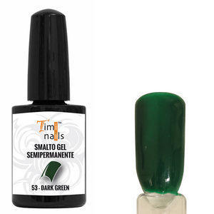 TN Smalto Gel Semipermanente nr. 53 Dark Green 14 ml.