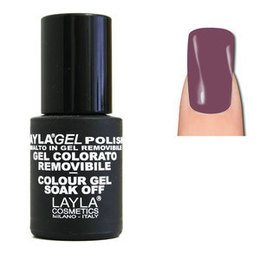LaylaGel Polish Gel Colorato nr 124 Grape Passion 10 ml