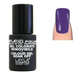 LaylaGel Polish Gel Colorato nr 125 Purple Splendor 10 ml
