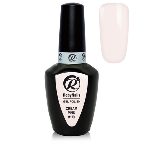 Gel Polish 119 Cream Pink Roby Nails 8 ml
