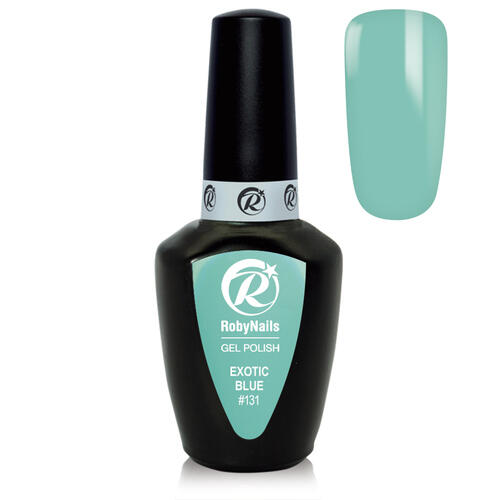 Gel Polish 131 Exotic Blue Roby Nails 8 ml
