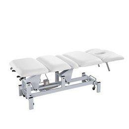 Lettino massaggio a 3 motori Claude Bianco