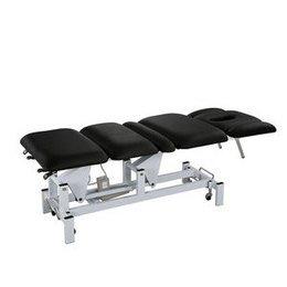 Lettino massaggio a 3 motori Claude Nero