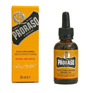 Olio da Barba Wood and Spice Proraso 30 ml.