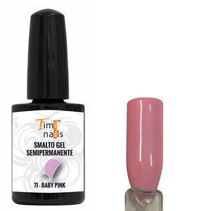 TN Smalto Gel Semipermanente nr. 71 Baby Pink 14 ml.