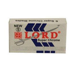 Lametta da barba Lord Super Chrome pacchetto 5 lamette