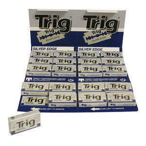 Lamette Trig Silver Edge stecca da 20 pacchetto BLU