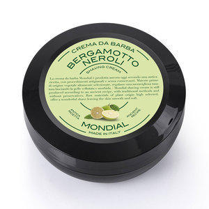 Mondial Crema da barba al Bergamotto Neroli in versione travel vasetto 75 ml