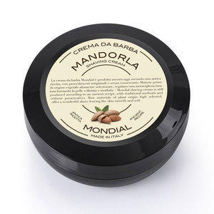 Mondial Crema da barba Mandorla in versione travel vasetto 75 ml