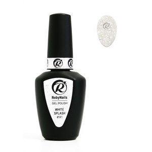 Gel Polish 141 White Splash Roby Nails 8 ml
