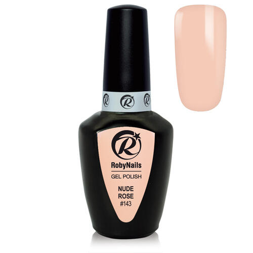 Gel Polish 143 Nude Rose Roby Nails 8 ml
