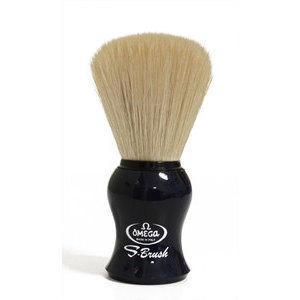 Pennello Barba Omega S10065 manico nero