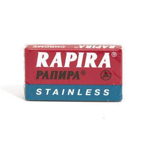 Lametta da Barba Rapira Pannpa Stainless pacchetto 5 lame