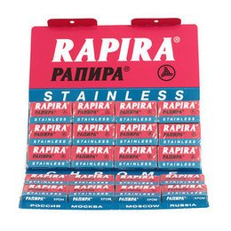 Lametta da Barba Rapira Pannpa Stainless stecca 20 pc.