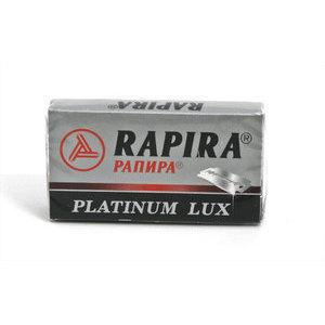 Lametta da Barba Rapira Platinum Lux pacchetto 5 lame