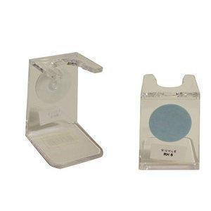 Muhle Supporto Pennello in Plastica Trasparente