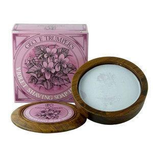 Sapone Barba Violet Ciotola Legno G.F.Trumper 80 ml