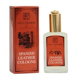 Spanish Leather Cologne Glass Geo. F. Trumper's 50 ml