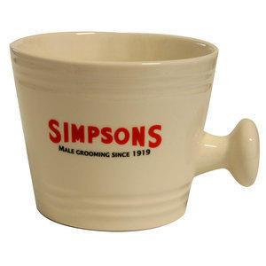 Ciotola da Barba in Ceramica Large Simpsons