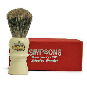 Pennello da Barba Beaufort B4 Pure Badger Simpsons
