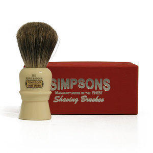 Pennello da Barba Beaufort B5 Pure Badger Simpsons