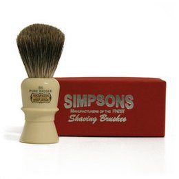 Pennello da Barba Beaufort B6 Pure Badger Simpsons