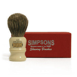 Pennello da Barba Berkeley 46 Pure Badger Simpsons