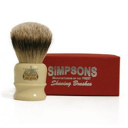 Pennello da Barba Chubby CH3 Best Badger Simpsons