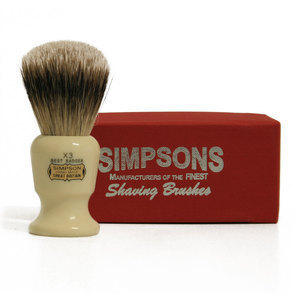 Pennello da Barba Commodore X3 Best Badger Simpsons