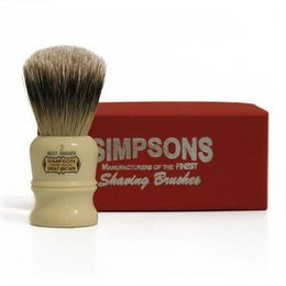 Pennello da Barba Duke D3 Best Badger Simpsons