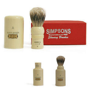 Pennello da Barba Major M1 Super Badger Simpsons