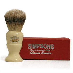 Pennello da Barba Polo PL12 Best Badger Simpsons