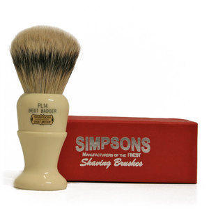 Pennello da Barba Polo PL14 Best Badger Simpsons