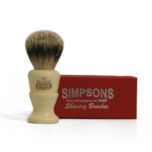 Pennello da Barba Polo PL8 Best Badger Simpsons