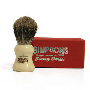 Pennello da Barba The Eagle G3 Pure Badger Simpsons