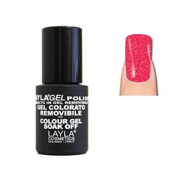 LaylaGel Polish Gel Colorato nr 148 Crazy Funny Pink 10 ml