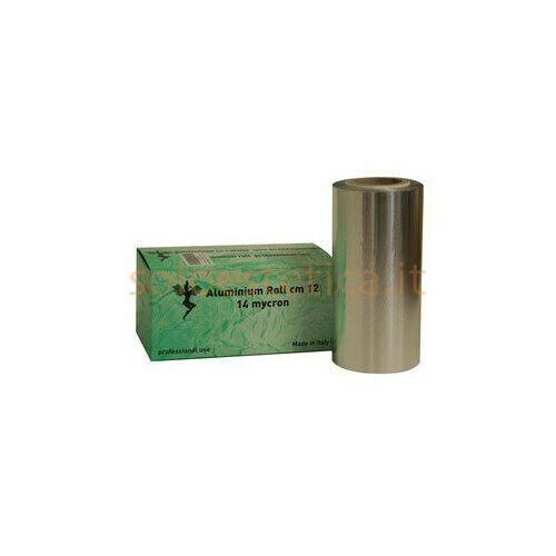 Rotolo alluminio larghezza H12 cm 500gr Box con Seghetto NW