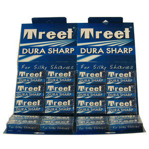 Lametta da Barba Treet Dura Sharp Stecca 20 Pc