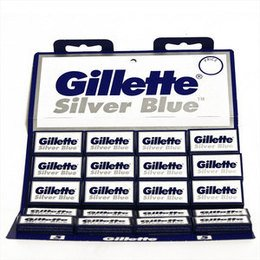Lametta Gillette Silver Blue Stecca 20 Pc
