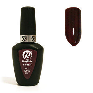 1-Step Gel Polish Roby #102 Wild Rouge 8 ml