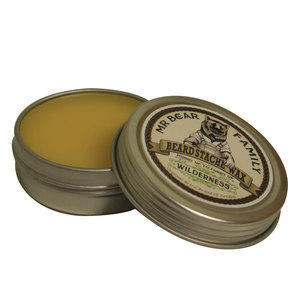 Beard Stache Wax Wilderness 30 ml Mr Bear Family