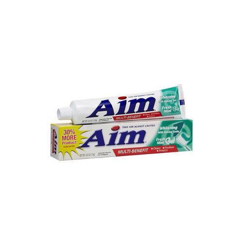 Aim Dentifricio Whitening Fresh Mint 175 ml